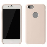 Чехол для iPhone 7 Plus/8 Plus Silicone Case (с окошком) Remax (розовый) - Service-Help.ru